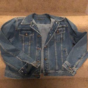 Polo Ralph Lauren denim button down jacket. Size M